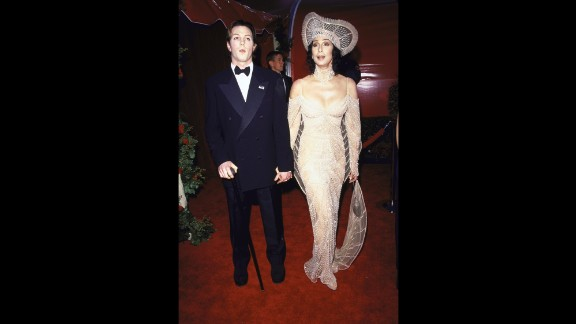 Cher and her son Elijah Blue Allman attend the Academy Awards together in 1998. Allman is the son of musician Gregg Allman, who Cher was married to from 1975-1979. Cher also has a son, Chaz, from her marriage to Sonny Bono.