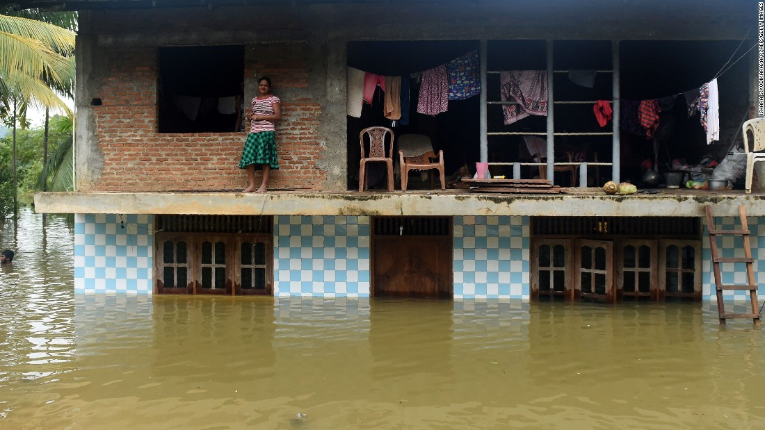 The heavy rains destroyed 211 houses and damaged another 236.