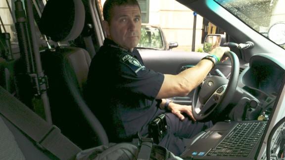 Charlotte-Mecklenburg Police Officer Tim Purdy