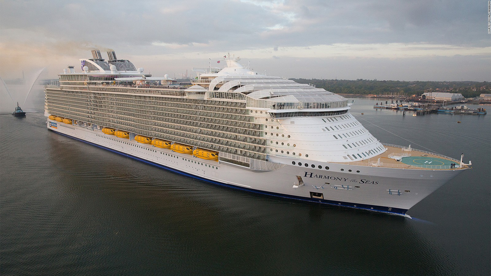 Harmony Of The Seas The Worlds Biggest Cruise Ship Cnn Travel