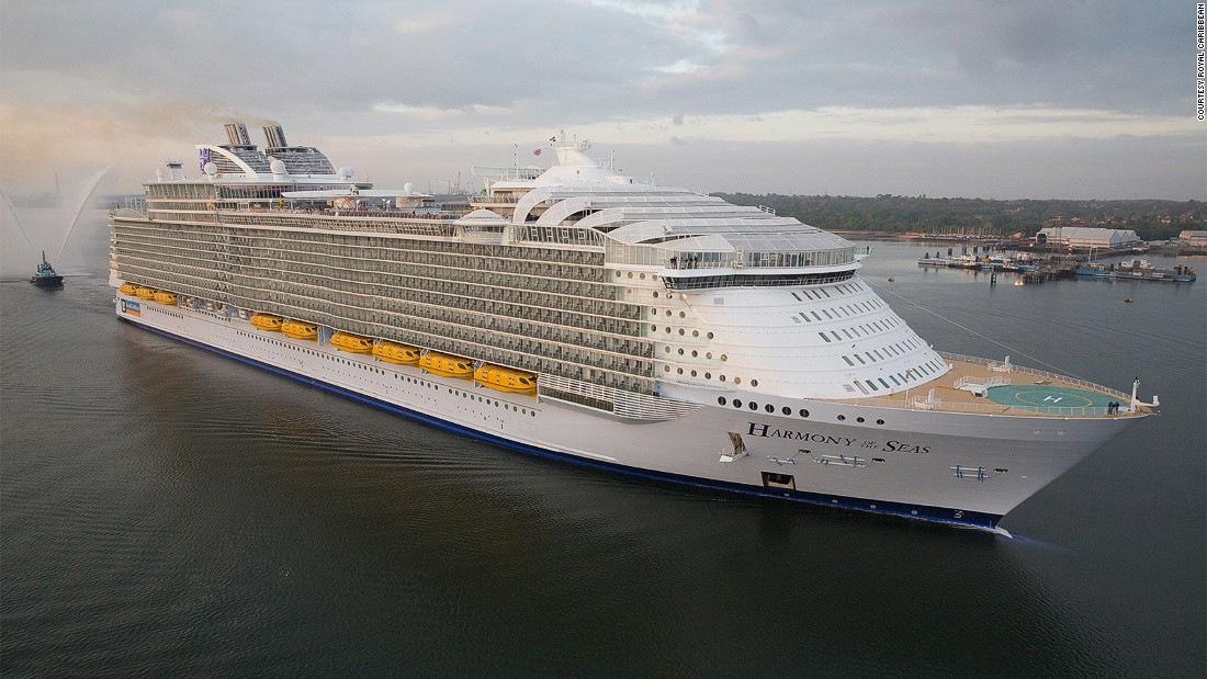 Harmony Of The Seas The Worlds Biggest Cruise Ship CNN Travel - List of largest cruise ships