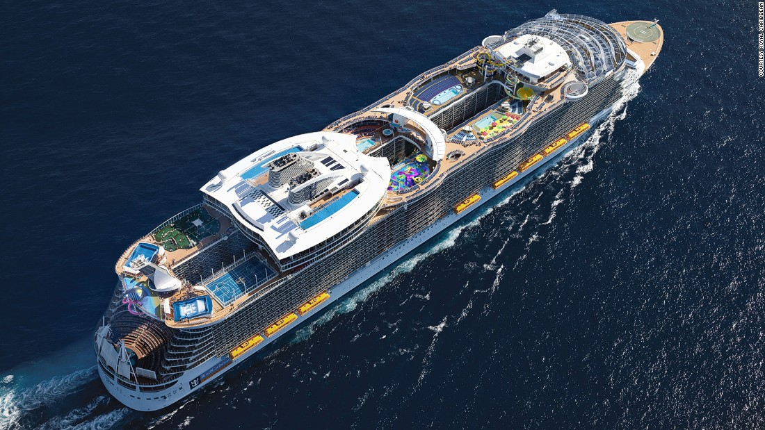 Harmony Of The Seas The Worlds Biggest Cruise Ship CNN Travel - Big cruise ship
