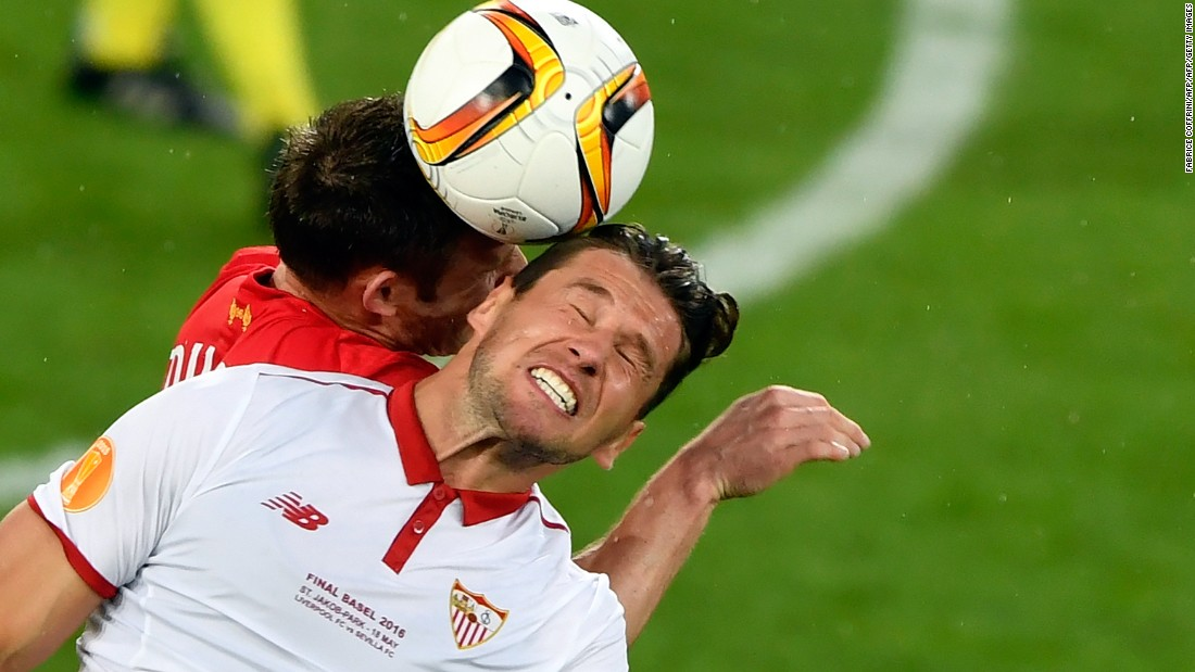 But Sevilla would battle back as the game wore on.