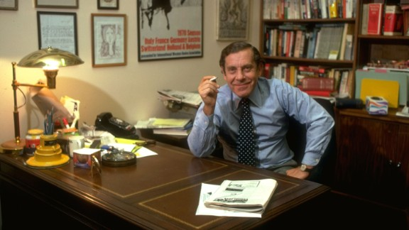 "CBS News legend Morley Safer, whose work on ""60 Minutes"" embodied the show"