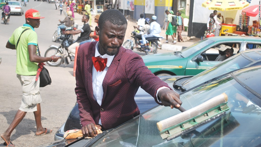 Dressing smartly for work, ensures people take him seriously explains Olatoyan. His red velvet bowties ensures he stands out. Photos of Abdulahi Olatoyan have gone viral on Instagram and Twitter in Nigeria.