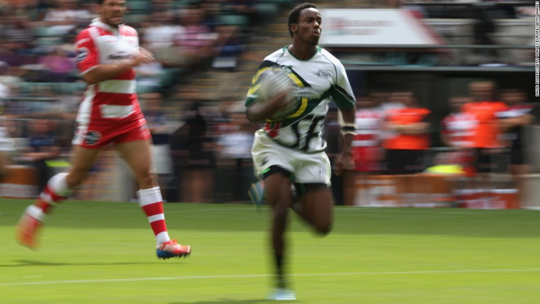 "Carlin Isles' scorching pace meant the American was dubbed ""the fastest man in rugby"" soon after taking up the sevens format of the game."