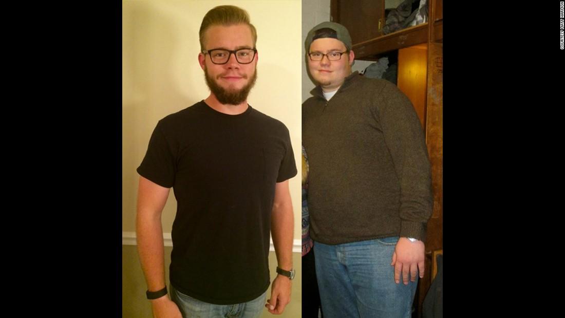 100 Pound Weight Loss Helps Broken Man Rebuild Cnn
