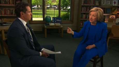 Hillary Clinton full interview part 2 cuomo_00000000