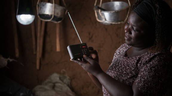 M-KOPA Solar provides solar power solutions for lighting, radios and other appliances for people who live off the electricity grid in Kenya, Uganda and Tanzania.