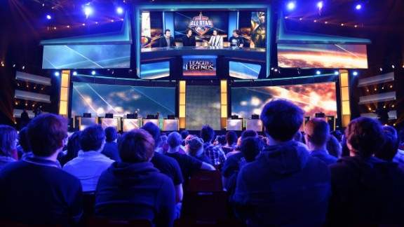Top video-gamers are household names and many millions more tune in to watch bouts via online streaming network Twitch.