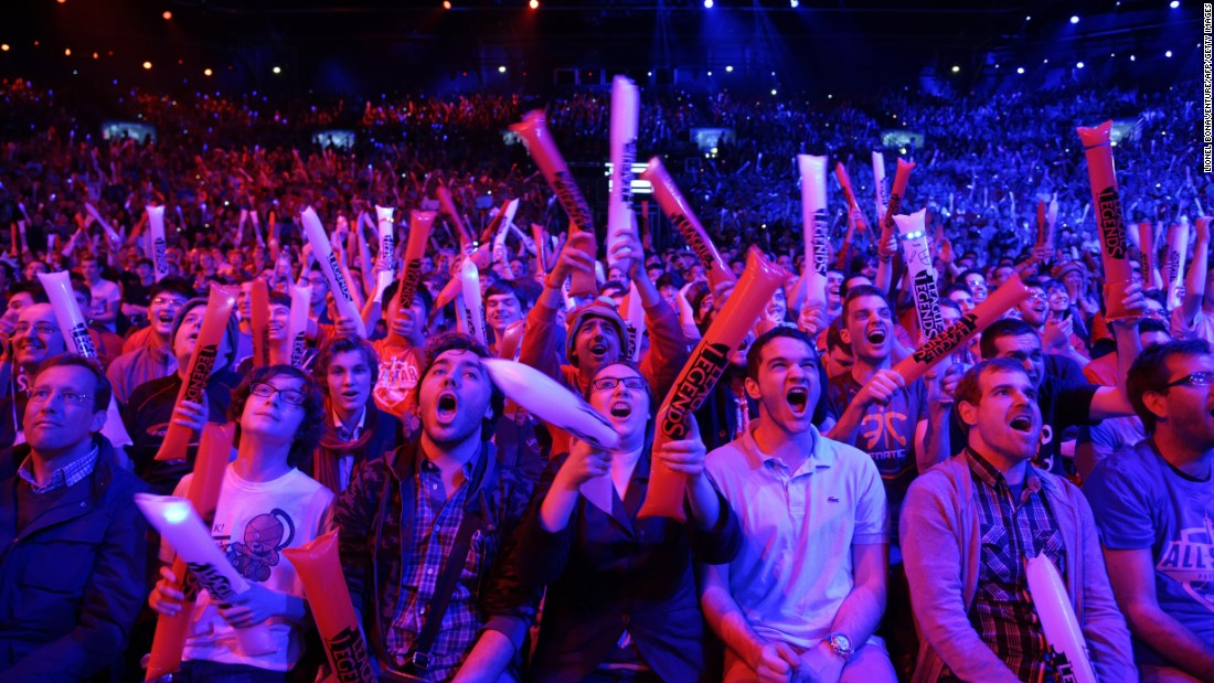 Image result for esport audience