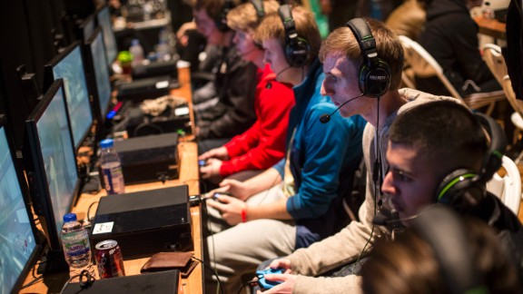 """The 2015 """"Call of Duty"""" European Championships were held at London"""