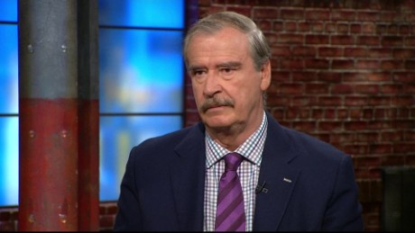 Vicente Fox on having lunch with Donald Trump _00000000
