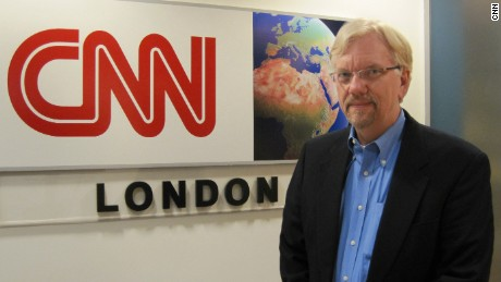 CNN's Will King visits the network's London bureau.