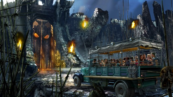 """King Kong"" the movie has been remade twice since its first appearance in 1933. This time, Universal's Islands of Adventure will include guests on the mission for survival at Skull Island: Reign of Kong."