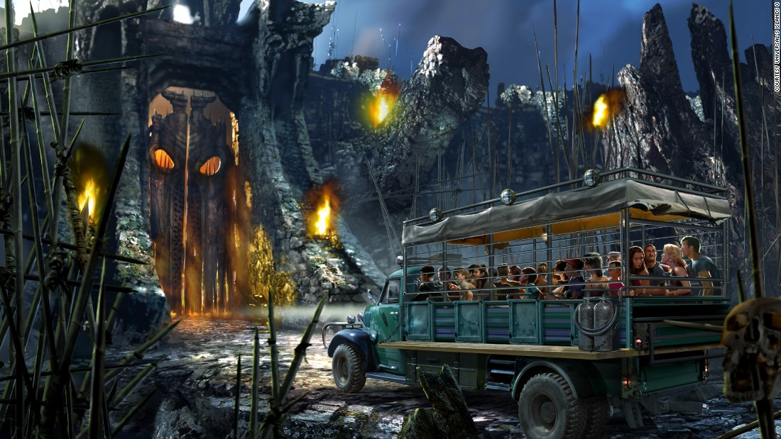 """King Kong"" the movie has been remade twice since its first appearance in 1933. This time, Universal's Islands of Adventure will include guests on the mission for survival at <a href=""https://www.universalorlando.com/Rides/Islands-of-Adventure/Skull-island-reign-of-kong.aspx"" target=""_blank"">Skull Island: Reign of Kong</a>."