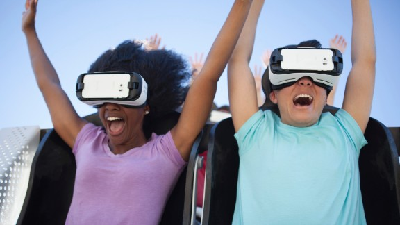 Virtual reality will make guests feel like Superman in Superman the Ride, flying 20 stories into the air and dropping at 77 miles per hour, at Six Flags New England.