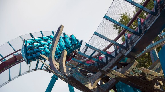 The riders become the sharks at Mako, SeaWorld Orlando's newest -- and tallest, longest and fastest -- roller coaster. It's all part of Shark Wreck Reef, a new underwater world that combines a thrilling ride and increasing shark awareness.