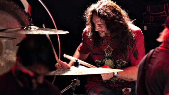 Drummer Nick Menza, who played on many of Megadeth