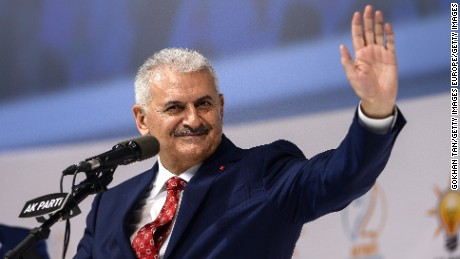 Binali Yildirim is the newly elected chairman of Turkey's ruling Justice and Development Party.