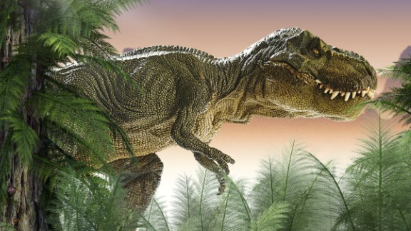 New research suggests toothy images of Tyrannosaurus rex and other large dinosaurs may be misleading.