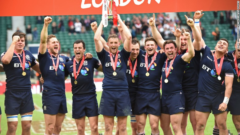 Image result for scotland win sevens world series london