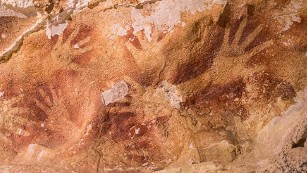 In South Sulawesi, Indonesia, find some of the world's oldest cave art