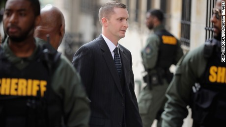 Officer found not guilty in Freddie Gray case