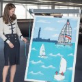 kate middleton sailing picture