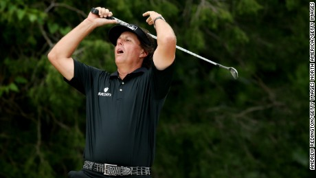 Mickelson argues his second place behind Justin Rose at Merion in 2013 was his hardest defeat.