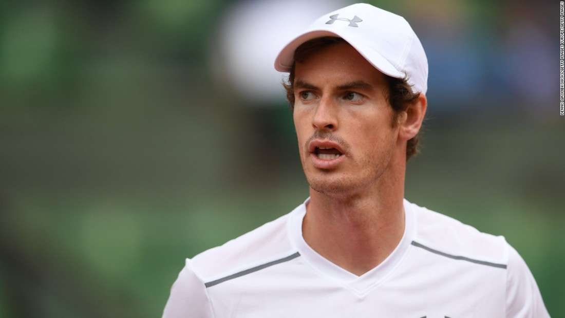 Andy Murray, the second seed in Wawrinka's half, trailed Radek Stepanek two sets to one when darkness halted play.