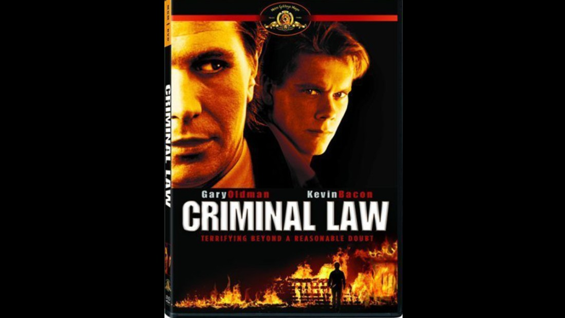 "<strong>""Criminal Law""</strong>: Gary Oldman plays a lawyer who discovers far too late that his client, played by Kevin Bacon, is a serial killer in this crime thriller.<strong> (Amazon Prime) </strong>"