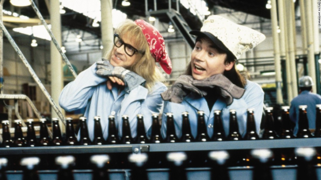 "<strong>""Wayne's World""</strong>:  Dana Carvey and Mike Myers took their teen characters from the small screen on ""SNL"" to a popular movie franchise. <strong>(Amazon Prime, Hulu) </strong>"