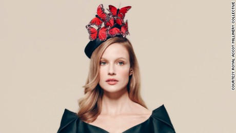 Hat by Laura Cathcart, £425 ($620), available at Fenwick.