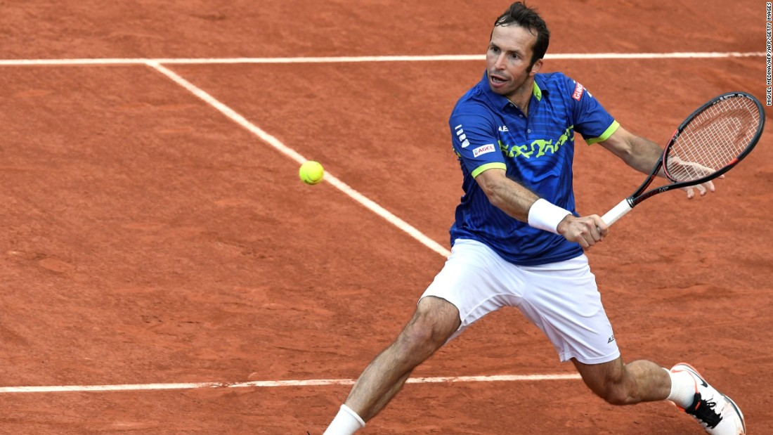 The crafty Stepanek, a former world No. 8, extended the second seed to five sets and was two points away from winning at 5-4 in the fifth.