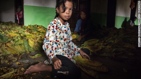 Indonesian 8-year-olds could be picking the tobacco in your cigarettes