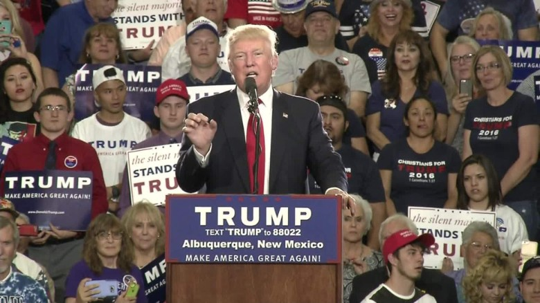 Trump takes a swipe at Clinton, Warren and Martinez