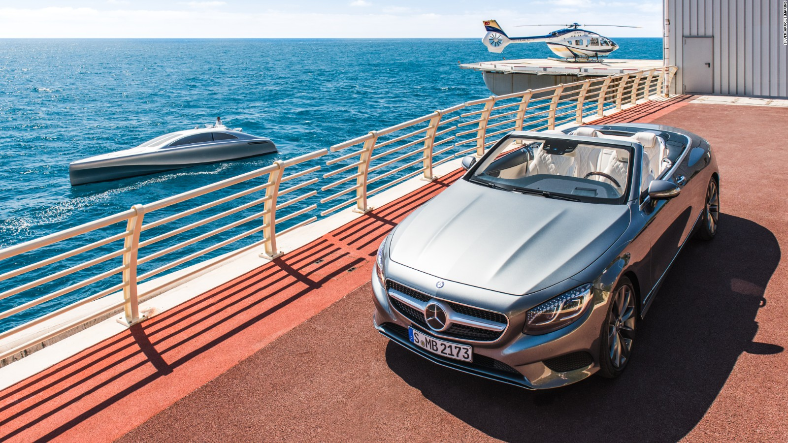Mercedes Benz Swaps Cars For Yachts With Arrow460 Granturismo
