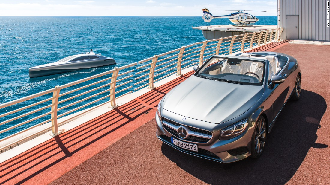 The Arrow460-Granturismo may be a yacht rather than a car, yet it still retains the look and feel of a Mercedes-Benz S-Class vehicle, while the boat's design also echoes other iconic models from the motor giant's back catalog.