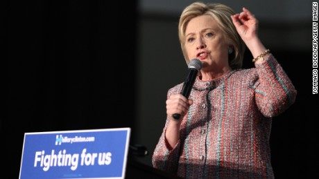 Hillary Clinton's shrinking email defense
