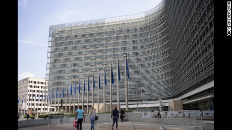 The Berlaymont building in Brussels, Belgium -- home to the European Commission.