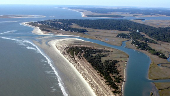 South of Charleston, South Carolina, on the southern end of Kiawah Island, you