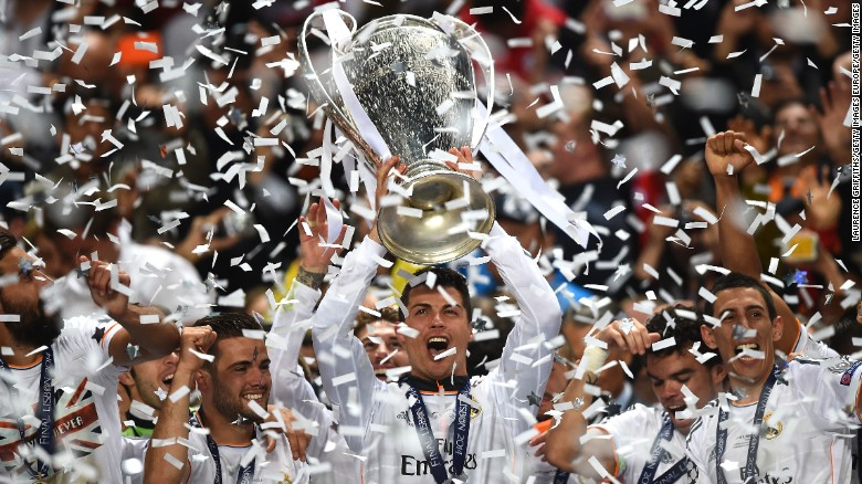 Cristiano Ronaldo Has Helped Real Madrid To A Pair Of Champions League Crowns During His Spell