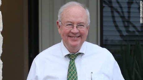 Baylor University: Ken Starr bumped from presidency