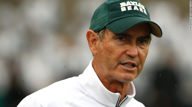 Ex-Baylor coach Art Briles will be head football coach of Mount Vernon High School in Texas this fall.