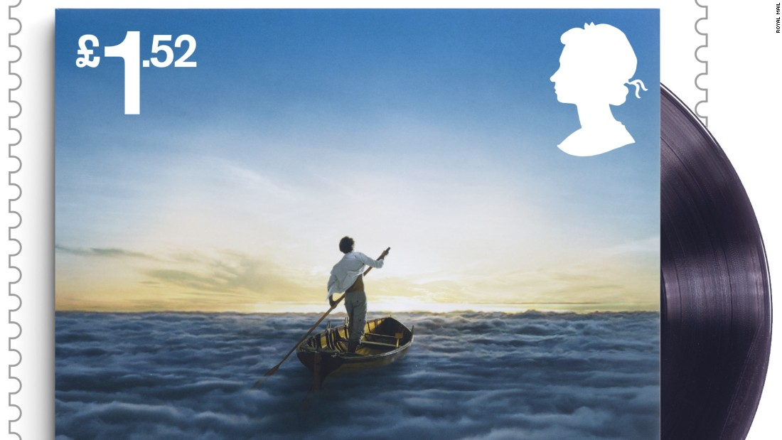 """The Endless River"" album cover, released by Parlophone Warner in 2014"