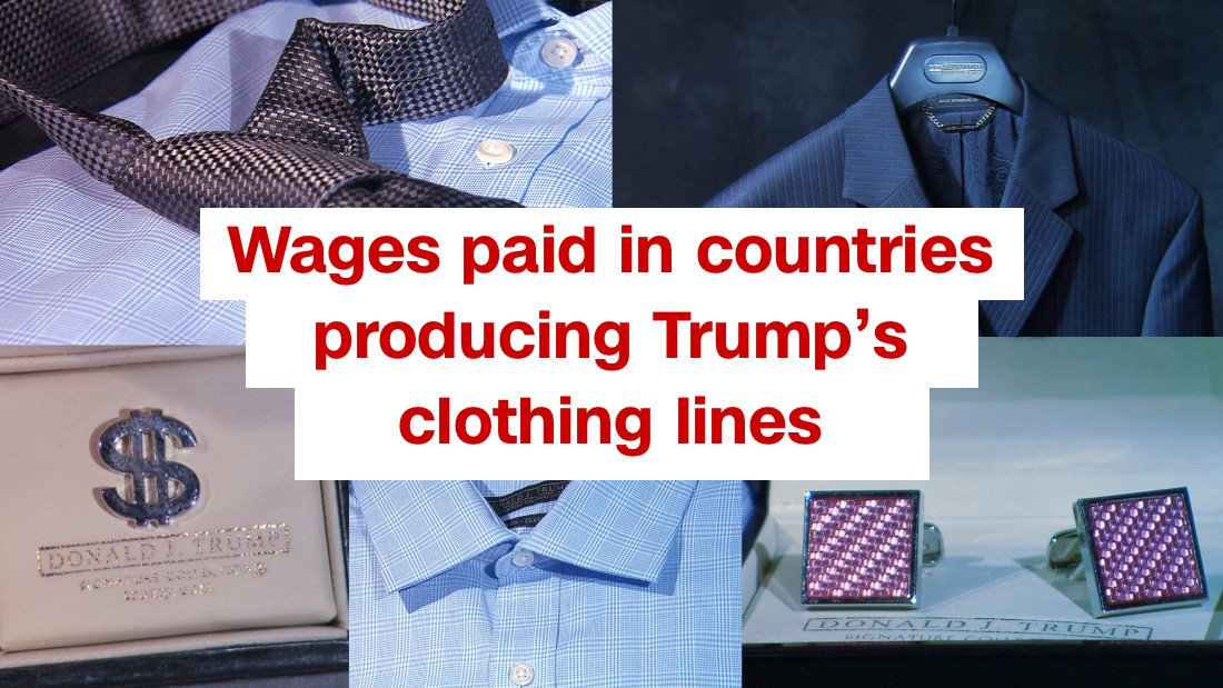 2c440d0e0 Donald Trump sought cheap labor overseas for clothing lines ...