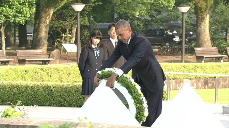 Obama In Hiroshima Calls For World Without Nuclear Weapons