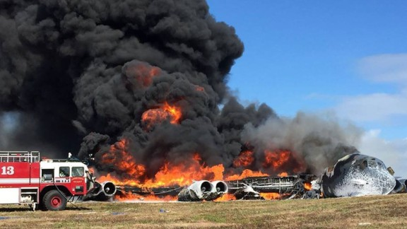 <strong>May 18, 2016:</strong> An Air Force B-52 crashes on the Pacific in Guam