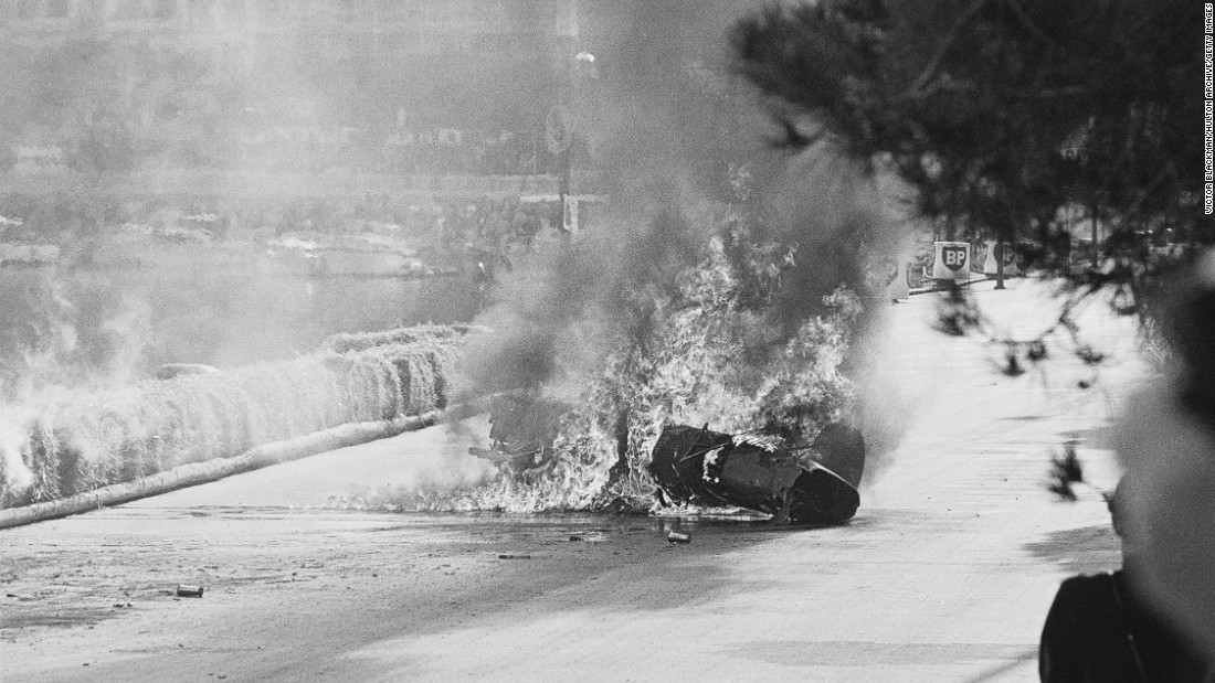 There has been just one fatality at the Monaco GP. In 1967, Italian motor racing driver Lorenzo Bandini lost control of his Ferrari at the harbor chicane and crashed before his car burst into flames. Bandini would succumb to his injuries three days later.